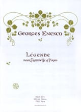 Georges Enesco - Legend - Sheet Music - di-arezzo.com