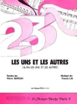 Francis Lai - The Uns and the Others - Film Music - Sheet Music - di-arezzo.co.uk