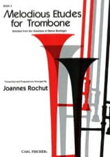 Joannes Rochut - Mélodious Etudes For Trombone Volume 2 - Partition - di-arezzo.fr