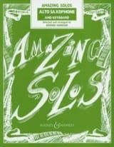 Amazing Solos Partition Saxophone - laflutedepan.com
