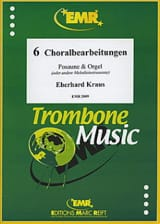 Eberhard Kraus - Sechs Choralbearbeitungen - Partition - di-arezzo.fr