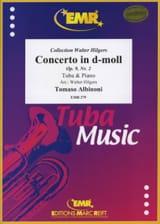 Concerto In D-Moll, Opus 9, Nr. 2 ALBINONI Partition laflutedepan