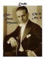 Etude Opus 11 N° 4 Clair Omar Musser Partition Marimba - laflutedepan