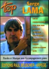 Serge Lama - Top Serge Lama - Partition - di-arezzo.fr