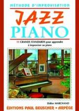Didier Marchand - Piano de jazz - Partitura - di-arezzo.es
