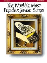 - The World's Most Popular Jewish Songs Volume 1 - Partition - di-arezzo.fr