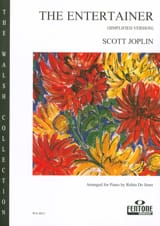 Scott Joplin - The Entertainer Simplified Piano - Sheet Music - di-arezzo.co.uk