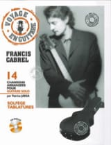Françis Cabrel - Traveling in Guitar - Sheet Music - di-arezzo.co.uk