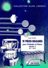 Dobri Paliev - 19 Pièces Bulgares Série 1 (1 A 8) - Partition - di-arezzo.fr