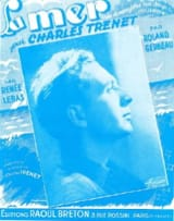 Charles Trenet - The sea - Sheet Music - di-arezzo.com