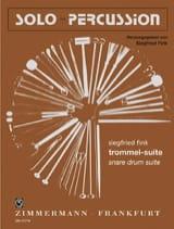 Trommel-Suite Siegfried Fink Partition laflutedepan.com