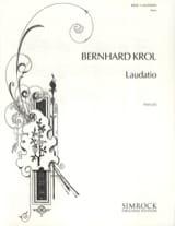 Bernhard Krol - Laudatio - Sheet Music - di-arezzo.co.uk