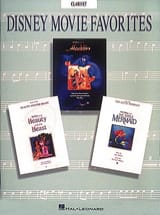 Disney Movie Favorites DISNEY Partition Clarinette - laflutedepan.com