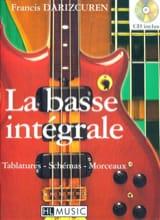 La Basse Intégrale Françis Darizcuren Partition laflutedepan.com