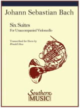 BACH - Six Suites - Sheet Music - di-arezzo.co.uk