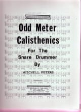 Mitchell Peters - Odd Meter Calisthenics - Partition - di-arezzo.fr