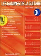 Philippe Ganter - The Ranges of the Guitar - Volume 1 - Sheet Music - di-arezzo.com