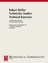 Robert Müller - Technische Studien - Sheet Music - di-arezzo.co.uk