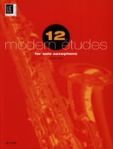 12 Modern études - James Rae - Partition - laflutedepan.com