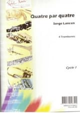 Serge Lancen - Four By Four - Sheet Music - di-arezzo.com