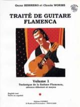 Herrero Oscar / Worms Claude - Flamenco Guitar Treatise Volume 1 - Sheet Music - di-arezzo.co.uk