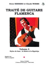Herrero Oscar / Worms Claude - Flamenco Guitar Treatise Volume 3 - Sheet Music - di-arezzo.co.uk