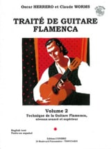 Herrero Oscar / Worms Claude - Flamenco Guitar Treatise Volume 2 - Sheet Music - di-arezzo.co.uk