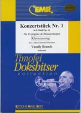 Vassily Brandt - Konzertstück Nr. 1 In F Moll Opus 11 - Partition - di-arezzo.fr