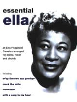 Ella Fitzgerald - 不可欠 - 楽譜 - di-arezzo.jp