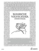- Russische Volkslieder - Partition - di-arezzo.fr