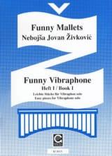Funny Vibraphone Volume 1 - Nebojsa jovan Zivkovic - laflutedepan.com