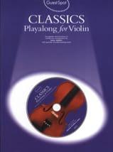 Guest Spot - Classics Playalong For Violin laflutedepan.com