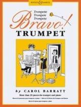 Bravo Trumpet Carol Barratt Partition Trompette - laflutedepan.com
