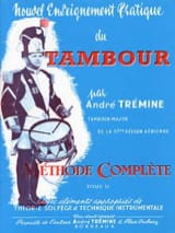 André Trémine - New Practical Drum Teaching Volume 2 - Sheet Music - di-arezzo.co.uk
