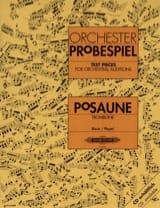 Orchester probespiel - Partition - Trombone - laflutedepan.com