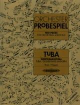 Orchester Probespiel Partition Tuba - laflutedepan.com