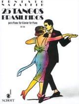 Ernesto Nazareth - 25 Tangos Brasileiros - Partitura - di-arezzo.it