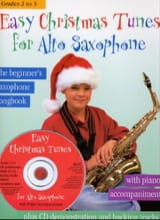 Easy Christmas Tunes For Alto Saxophone Noël Partition laflutedepan