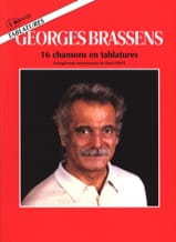 Georges Brassens - 16 Chansons En Tablatures - Partition - di-arezzo.fr