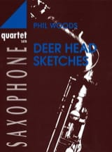Deer Head Sketches Phil Woods Partition Saxophone - laflutedepan.com