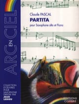 Partita Claude Pascal Partition Saxophone - laflutedepan