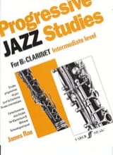 James Rae - Progressive Jazz Studies Intermediate - Partition - di-arezzo.fr