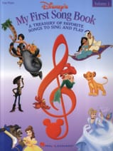 DISNEY - My first songbook volume 1 - Easy Piano - Sheet Music - di-arezzo.com