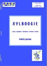 Xylboogie Frédéric Jourdan Partition laflutedepan