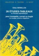Gilles Herbillon - 26 Studies-Tables - Sheet Music - di-arezzo.com