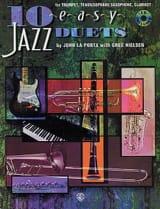 10 Easy Jazz Duets La Porta J. / Nielsen G. Partition laflutedepan.com