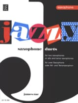 James Rae - Jazzy Duets For Saxophones - Partition - di-arezzo.fr