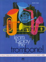 Charles F. Gouse - Learn To Play The Trombone - Volume 2 - Sheet Music - di-arezzo.co.uk