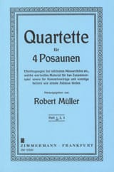 Robert Müller - Quartet Volume 1 - Sheet Music - di-arezzo.co.uk