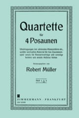 Robert Müller - Quartett Band 2 - Noten - di-arezzo.de